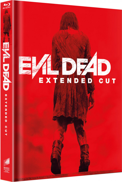Evil Dead - Extended Cut - Limited Mediabook Edition - Cover A [Blu-ray]