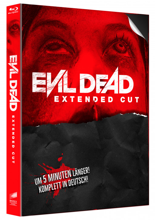 Evil Dead - Extended Cut - Limited Mediabook Edition - Cover B [Blu-ray]