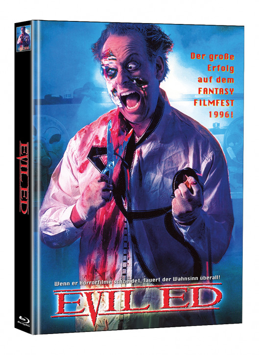 Evil Ed - Limited Mediabook Edition - Cover A (Super Spooky Stories #155) [Blu-ray]