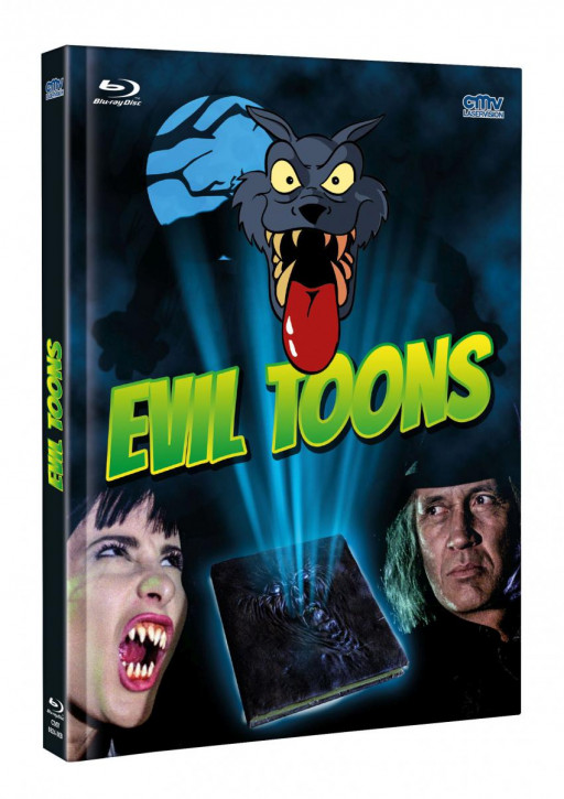 Evil Toons - Mediabook - Cover A [Blu-ray+DVD]