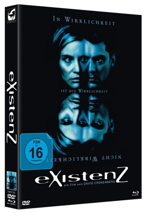 eXistenZ - Limited Mediabook Edition - Cover B [Blu-ray+DVD]