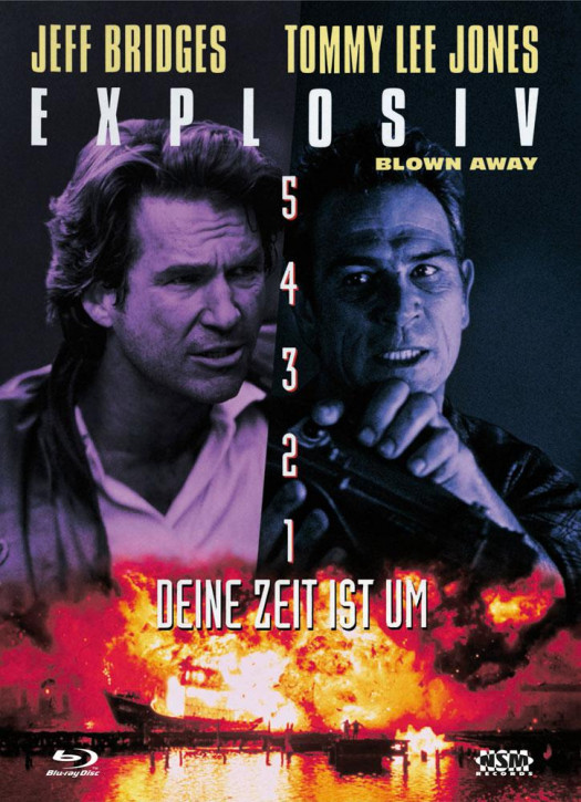 Explosiv - Blown Away - Limited Collector's Edition - Cover B [Bluray+DVD]