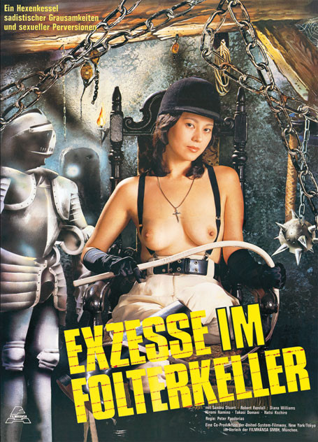 Exzesse im Folterkeller - Limited Uncut Collector's Edition - Cover B [Blu-ray+DVD]