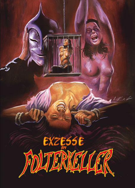 Exzesse im Folterkeller - Limited Uncut Collector's Edition - Cover C [Blu-ray+DVD]