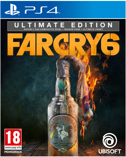 Far Cry 6 - Ultimate Edition [PS4]