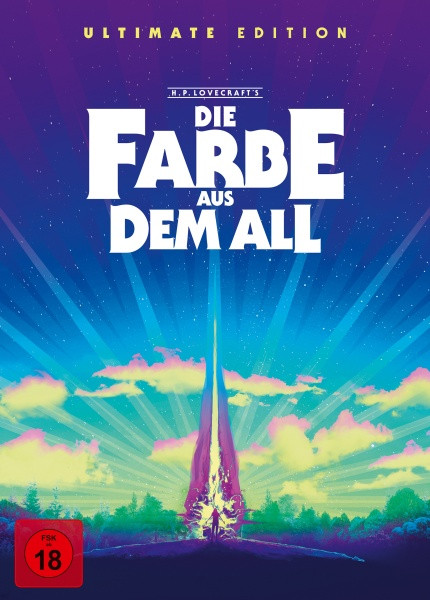 Die Farbe aus dem All - Color Out of Space - Ultimate Edition [4K Ultra HD+Blu-ray+CD]