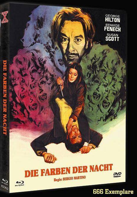 Die Farben der Nacht - Eurocult Collection #022 - Cover A [Blu-ray+DVD]