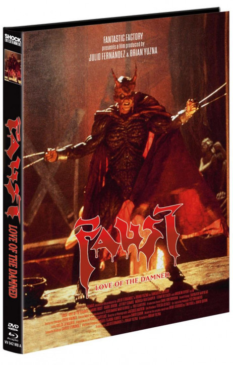 Faust - Love of the Damned - Mediabook - Cover A [Blu-ray+DVD]
