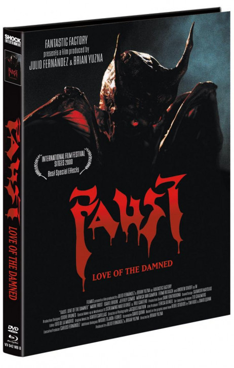 Faust - Love of the Damned - Mediabook - Cover B [Blu-ray+DVD]