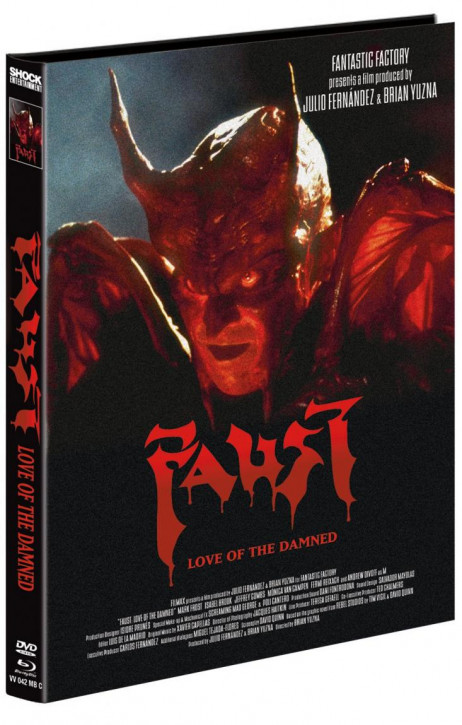 Faust - Love of the Damned - Mediabook - Cover C [Blu-ray+DVD]