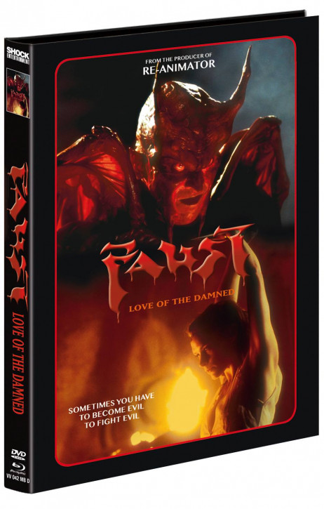 Faust - Love of the Damned - Mediabook - Cover D [Blu-ray+DVD]