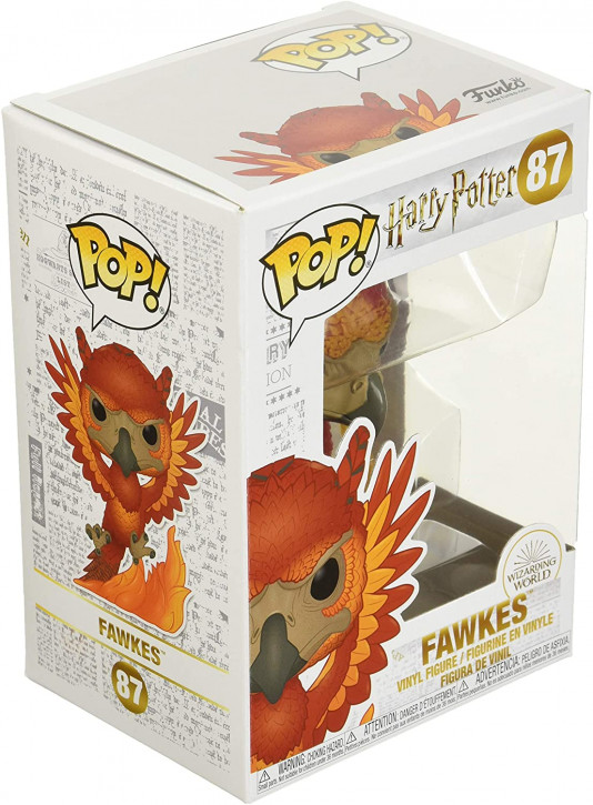 FunKo Movie: Harry Potter - Fawkes - Pop Vinyl Figure 87