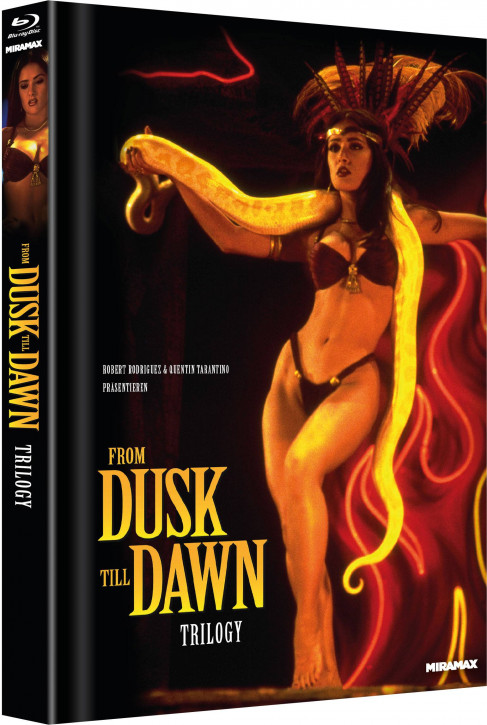 From Dusk till Dawn - Trilogy - Limited Mediabook Edition - Cover B [Blu-ray]