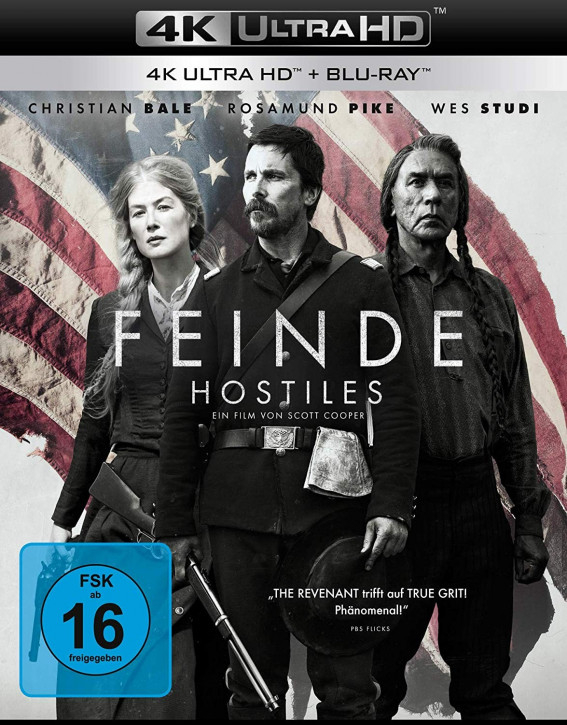 Feinde - Hostiles [4K UHD+Blu-ray]