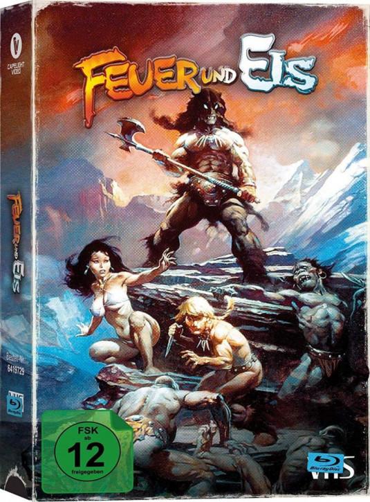 Feuer und Eis - VHS-Edition [Blu-ray]