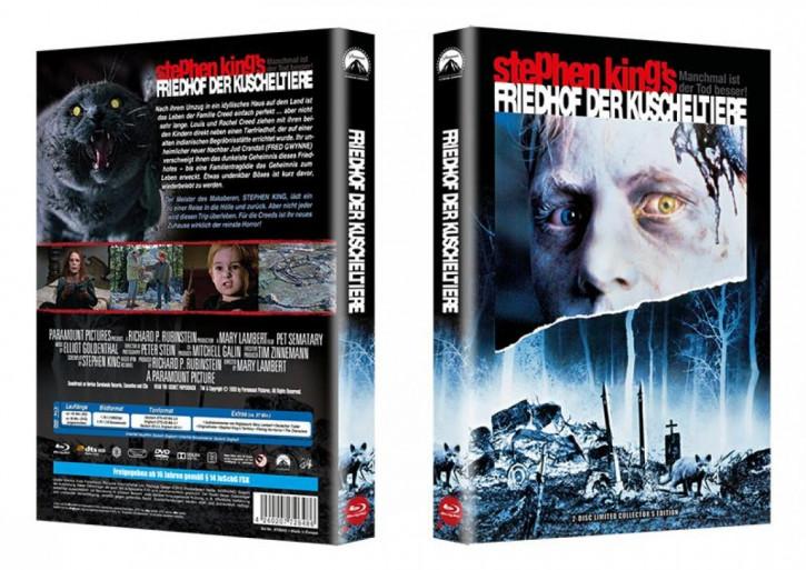 Friedhof der Kuscheltiere - Riesen Hartbox VHS Motiv [Blu-ray]