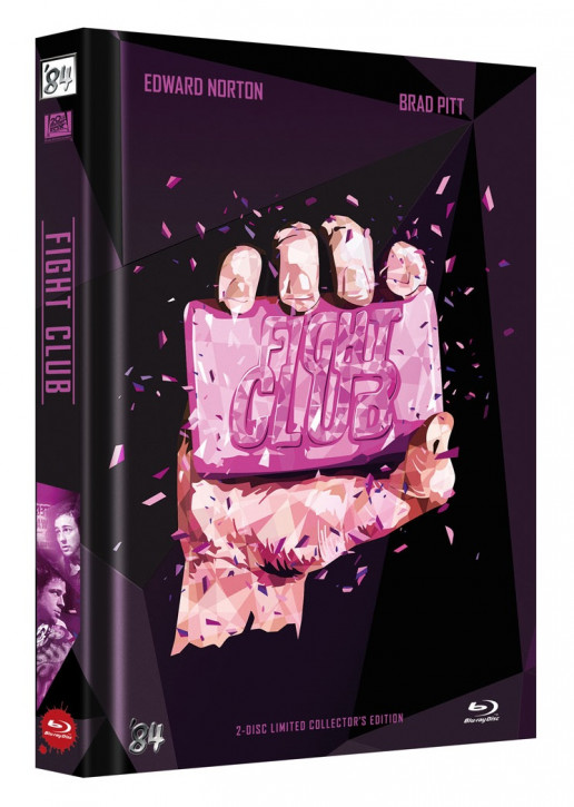 Fight Club - Limited Collectors Edition Mediabook - Cover B [Blu-ray+DVD]