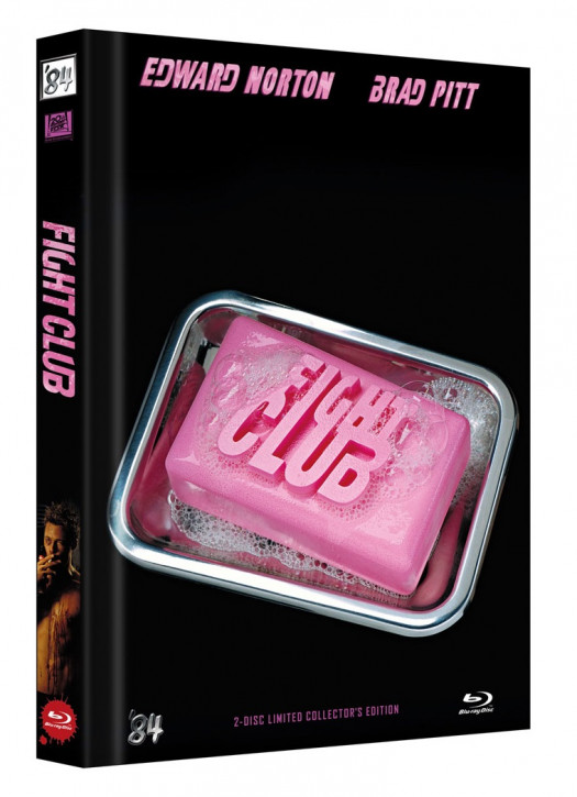 Fight Club - Limited Collectors Edition Mediabook - Cover C [Blu-ray+DVD]