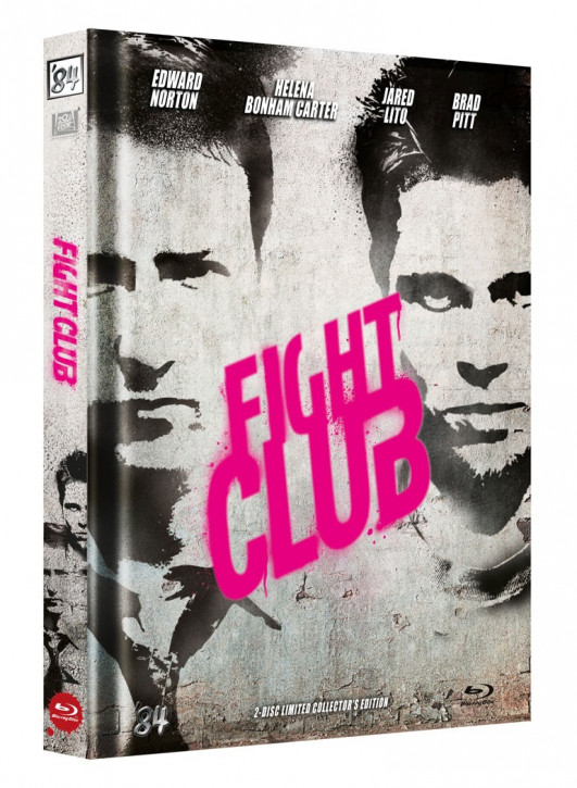 Fight Club - Limited Collectors Edition Mediabook - Cover D [Blu-ray+DVD]