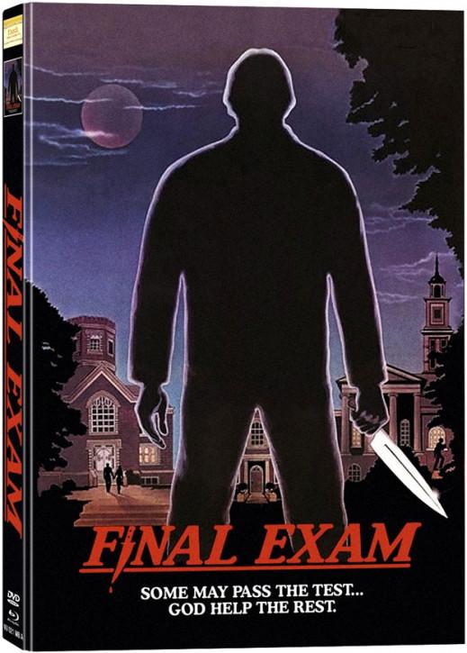 Final Exam (Examen) - Limited Mediabook Edition - Cover A [Blu-ray+DVD]