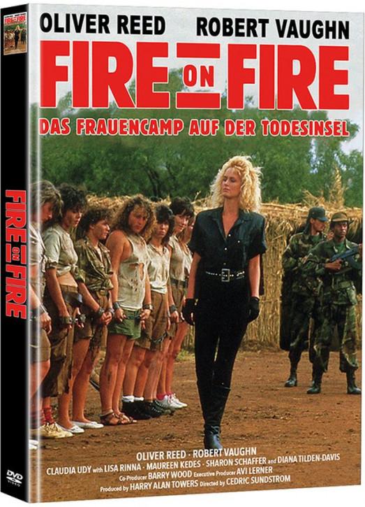 Fire on Fire - Das Frauencamp auf der Todesinsel - Limited Mediabook Edition - Cover A [DVD]