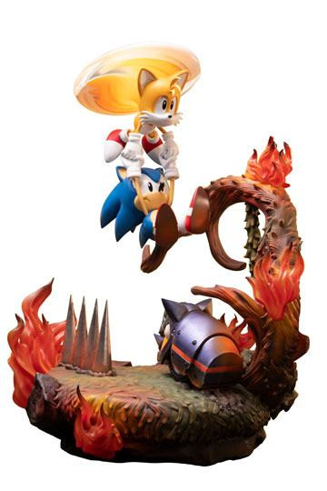 First 4 Figures - Sonic The Hedgehog - Sonic & Tails - Figur