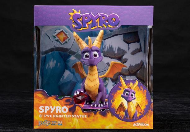 First 4 Figures - Spyro the Dragon - Spyro Statue