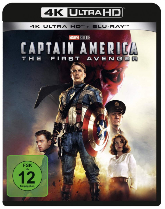 Captain America - The First Avenger [4K UHD+Blu-ray]