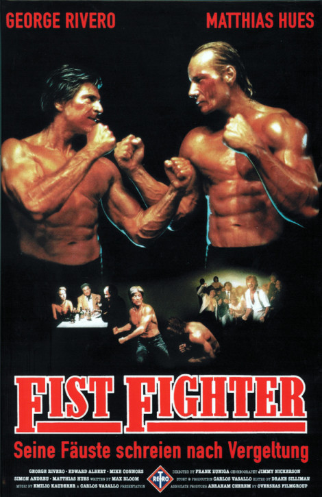 Fist Fighter - Große Hartbox - Cover B [DVD]