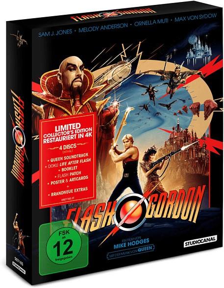 Flash Gordon - Limited Collector's Edition [Blu-ray]