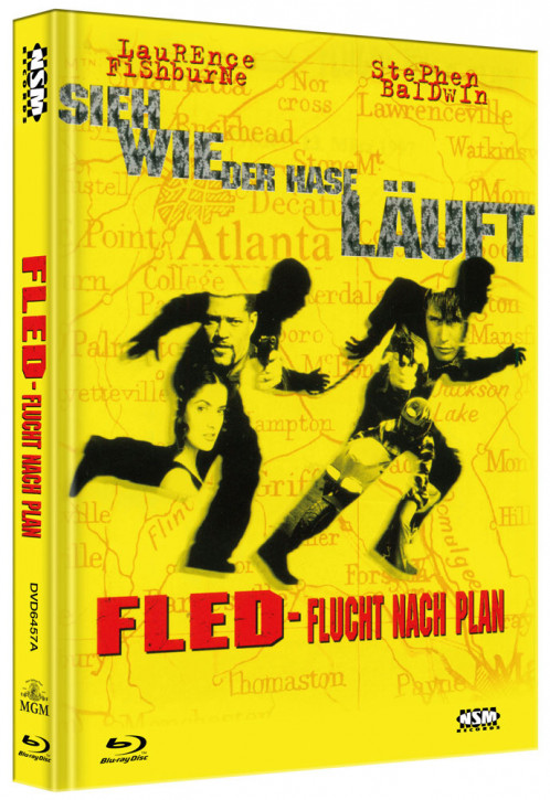 Fled - Flucht nach Plan - Limited Collector's Edition - Cover A [Blu-ray+DVD]