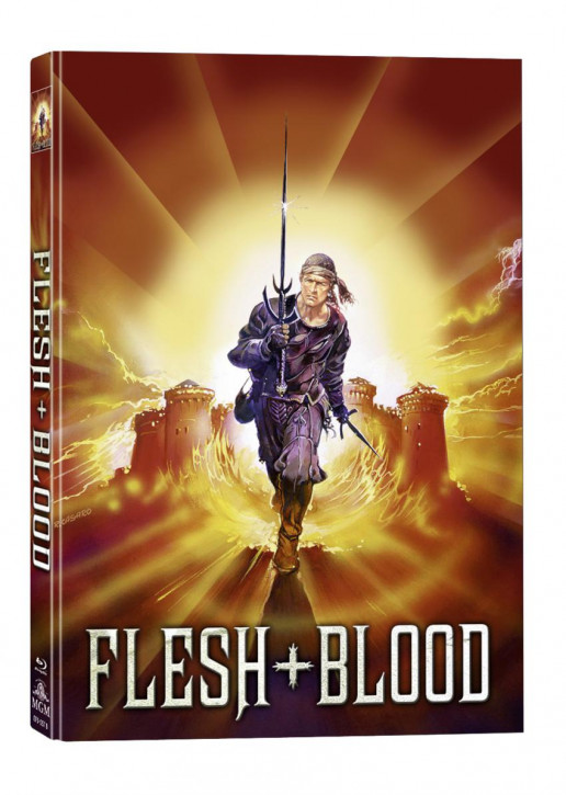 Flesh + Blood - Mediabook - Cover B [Blu-ray+DVD]