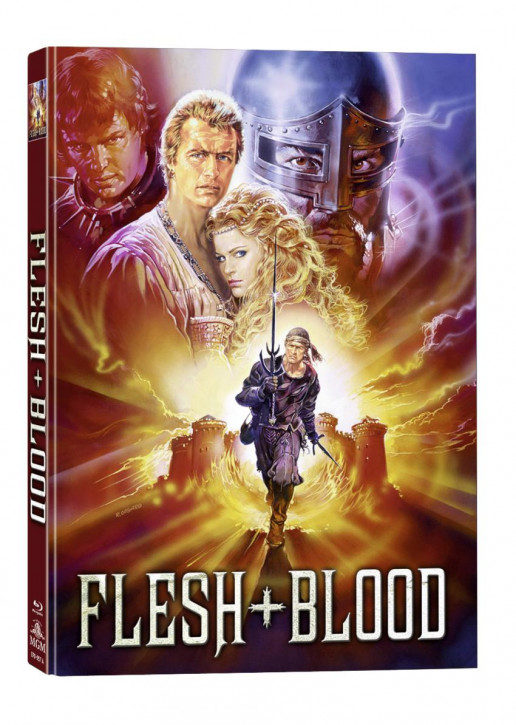 Flesh + Blood - Mediabook - Cover A [Blu-ray+DVD]