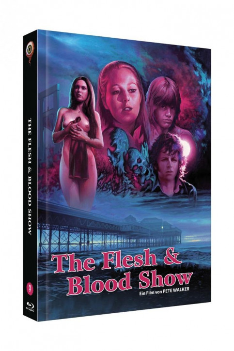 The Flesh and Blood Show - Limited Mediabook - Cover B [Blu-ray+DVD]
