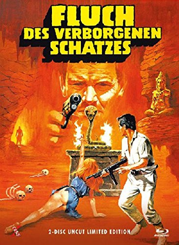Fluch des verborgenen Schatzes - Limited Edition - Cover A [Blu-ray+DVD]