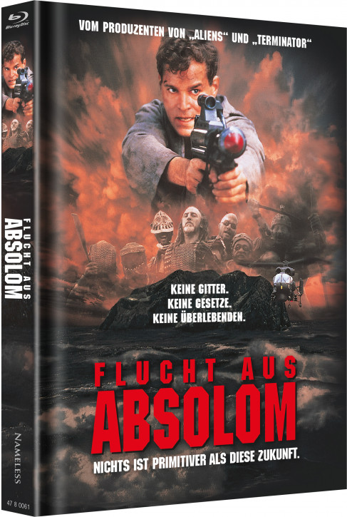 Flucht aus Absolom - Limited Mediabook Edition - Cover A [Blu-ray+DVD]