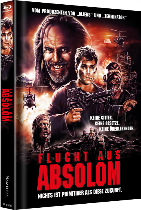 Flucht aus Absolom - Limited Mediabook Edition - Cover B [Blu-ray+DVD]