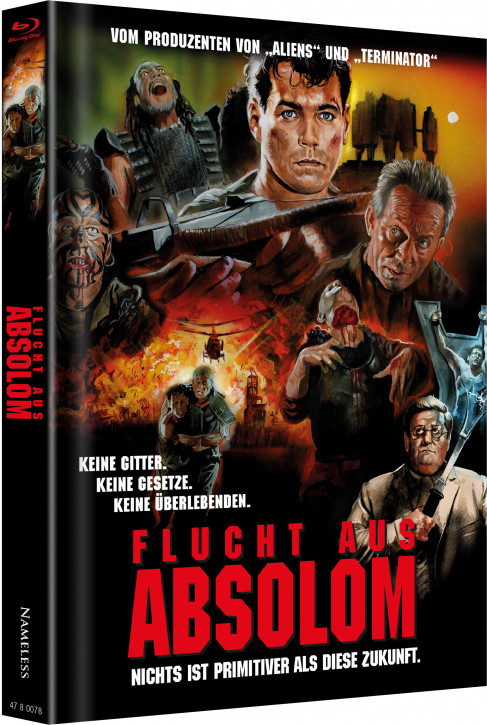 Flucht aus Absolom - Limited Mediabook Edition - Cover C [Blu-ray+DVD]