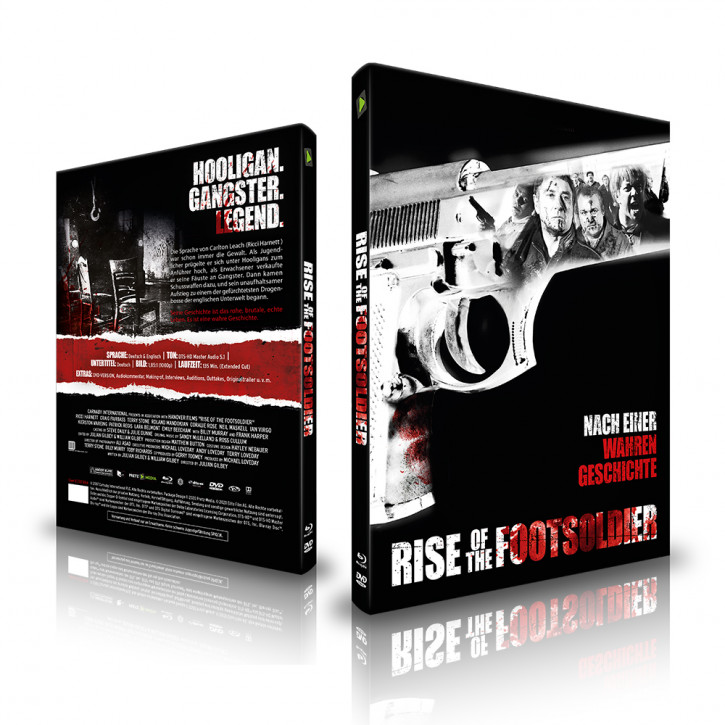 Rise of the Footsoldier - Limited Mediabook - Cover B [Blu-ray+DVD]