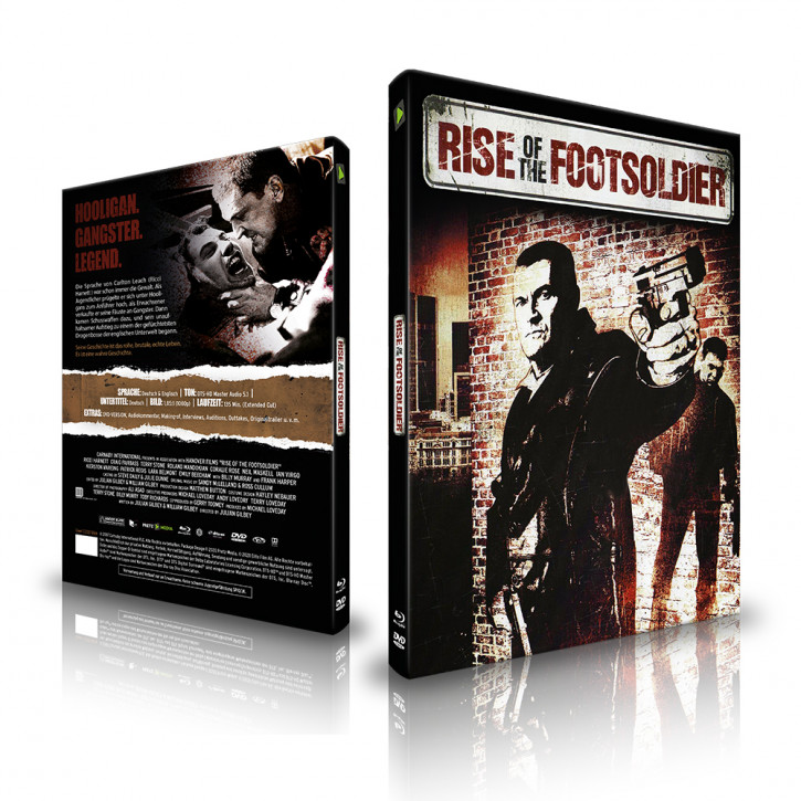 Rise of the Footsoldier - Limited Mediabook - Cover C [Blu-ray+DVD]