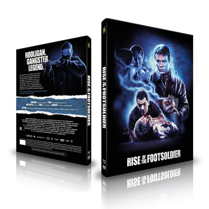 Rise of the Footsoldier - Limited Mediabook - Cover A [Blu-ray+DVD]