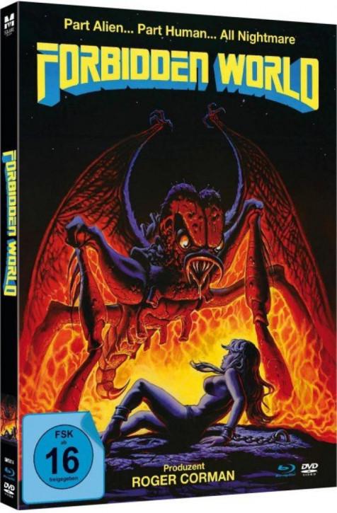 Forbidden World - Limited Mediabook Edition - [Blu-ray+DVD]