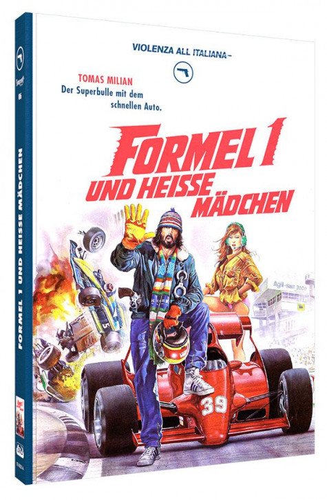 Formel 1 und heisse Mädchen - Limited Mediabook Edition - Cover A [Blu-ray+DVD]