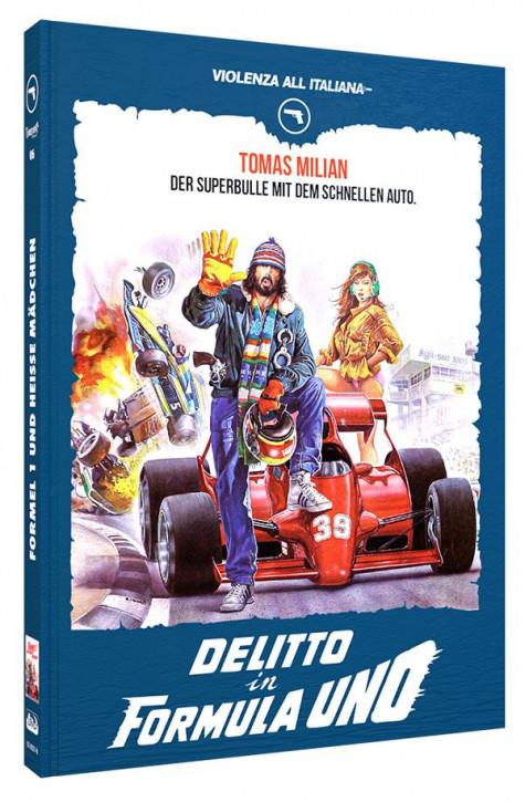 Formel 1 und heisse Mädchen - Limited Mediabook Edition - Cover B [Blu-ray+DVD]