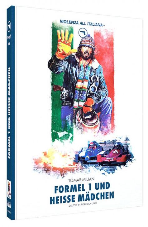 Formel 1 und heisse Mädchen - Limited Mediabook Edition - Cover C [Blu-ray+DVD]