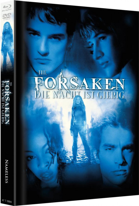 Forsaken - Limited Mediabook Edition - Cover A [Blu-ray+DVD]