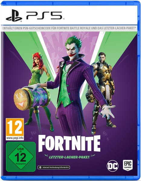 Fortnite - Letzter Lacher Paket (Code in the box) [PS5]