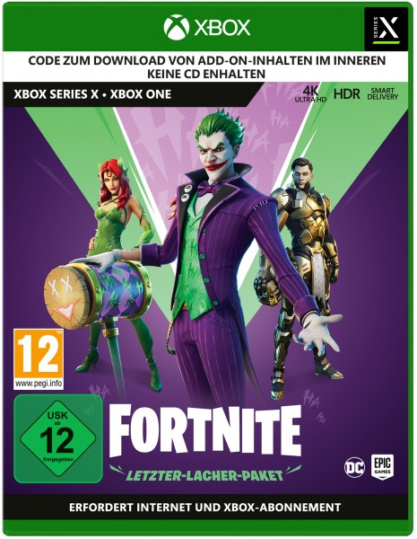 Fortnite - Letzter Lacher Paket (Code in the box) [Xbox One/Series X]