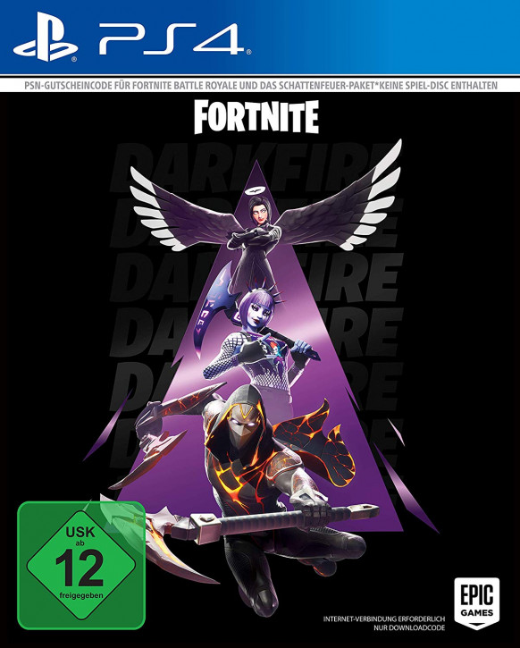 Fortnite - Schattenfeuer Paket (Code in the box) [PS4]