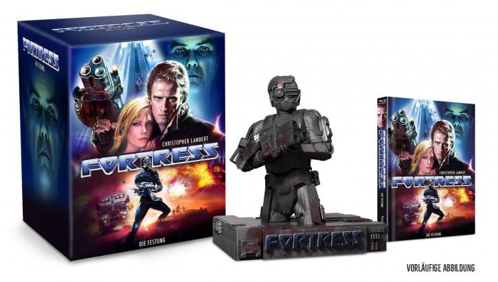 Fortress - Die Festung - Büste inkl. Mediabook [Blu-ray+DVD]